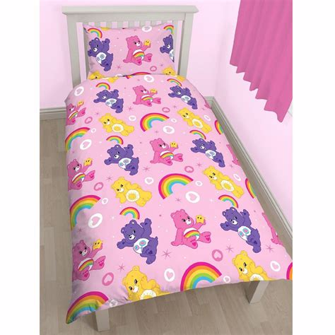 care bear comforter care bears share twin duvet cover bed sheets set new