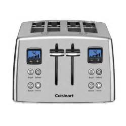 Cuisineart Toaster Cpt 435 4 Slice Countdown Metal Toaster Toasters