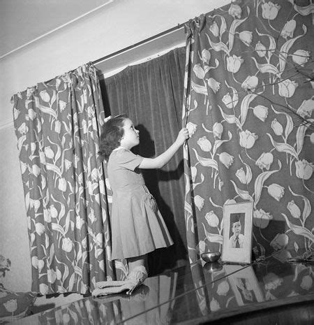 little girl blackout curtains this photo shows how blackout curtains fitted behind
