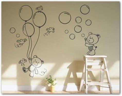 ositos para decorar habitacion bebe fotos o im 225 genes ositos en mural habitacion de bebe