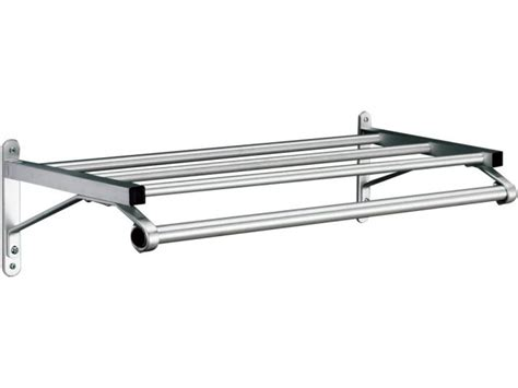 Wall Mounted Clothes Rack With Shelf by Value Line Wall Mounted Coat Rack With Hat Shelf 2 Coat