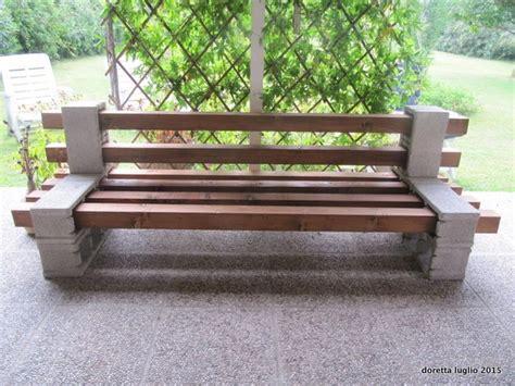 come costruire una panchina in legno una panchina sarda in sa 242 r