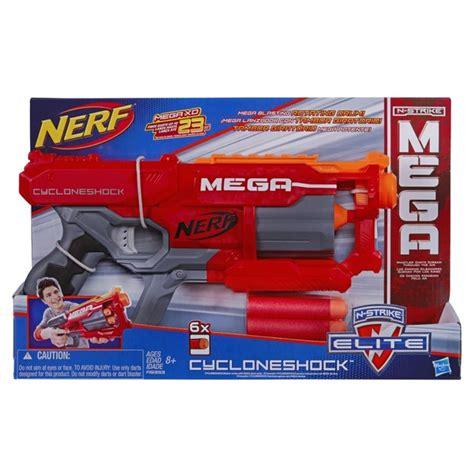 Nerf N Strike Elite Mega Cycloneshock Blaster 9 Kg nerf elite mega cycloneshock blaster at mighty