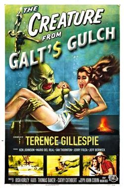 Book Fright Time Creatures Who Am I Etc the creature from galt s gulch the book mcgillespie