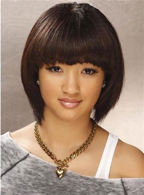 short bob hairstyles dark hair hair styles with bangs for short hair short hairstyles