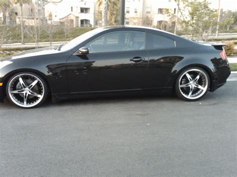 Kaos Gt5 infiniti g35 g37 coupe wheels custom and tire packages