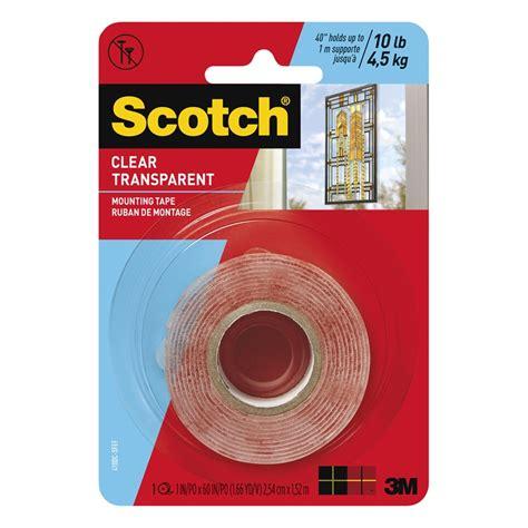 3m Scotch Mounting 24 Mm X 5m Dijamin scotch 25mm x 1 5m clear mounting bunnings warehouse