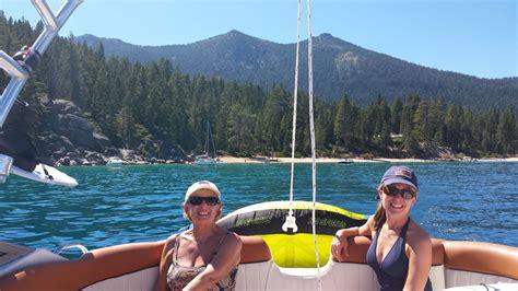 tahoe boat rent tahoe discount rental boat watersports tours