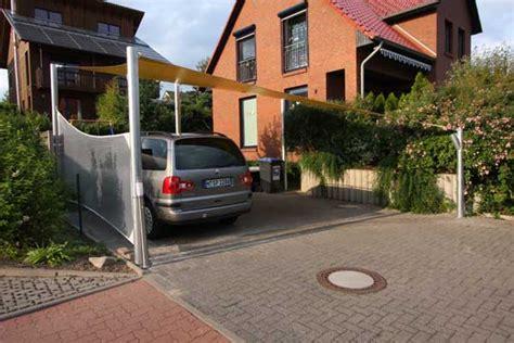 carport mit plane carport mit sonnensegel aus precontraint tuch und pfosten