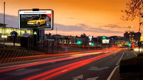 outdoor network outdoor network s new led billboard captivates the city of