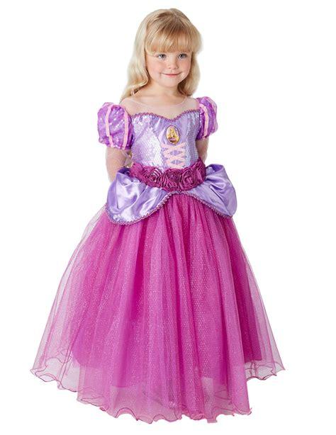 Disney Premium I Rapunzel costume premium rapunzel per bambina costumi bambini e