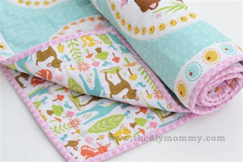 Sew an Easy Beginner's Baby Quilt   The DIY Mommy