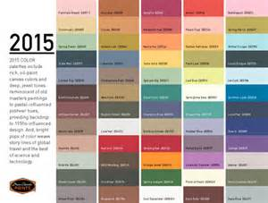 fall colors for 2015 los colores para 2015