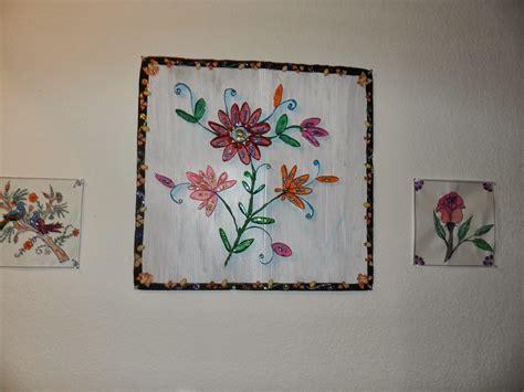 Craft Paper Holder - creative diy crafts tissue paper holder wall craft