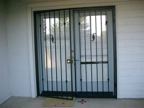 inspiration idea metal security doors with door