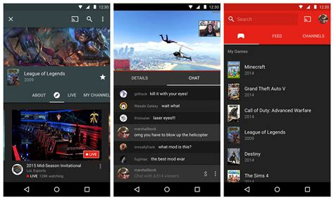 download youtube gaming apk download android youtube gaming app v1 0 0 8 stable