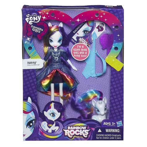 Set Pony Rok Bordir my pony equestria rarity doll and pony set toys