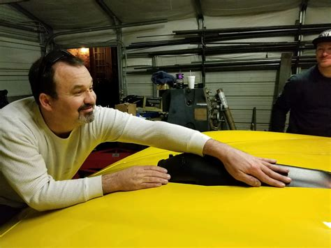 salvaged corvette plans to become world s fastest blind in