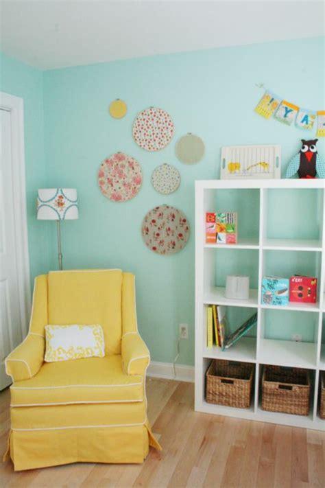 sessel für babyzimmer kinderzimmer idee mint