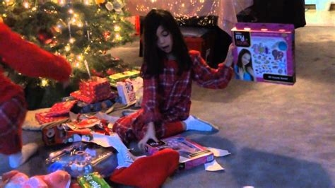 christmas presents that start with r opening presents vlog 45