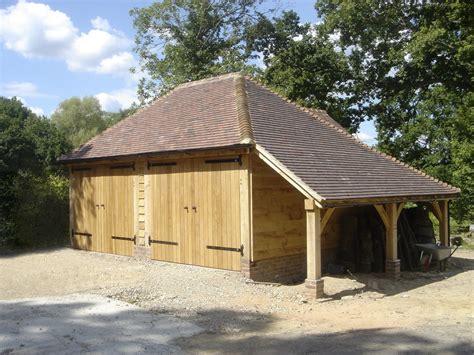 oak framed garages kent surrey  sussexchartwell oak