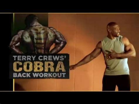 terry crews supplements terry crews cobra back workout supplement demand