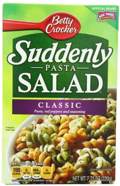 Pasta Salad Box | savory pasta salad recipes