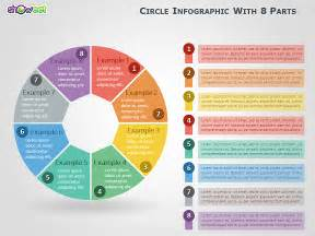 circle infographic with 8 parts for powerpoint
