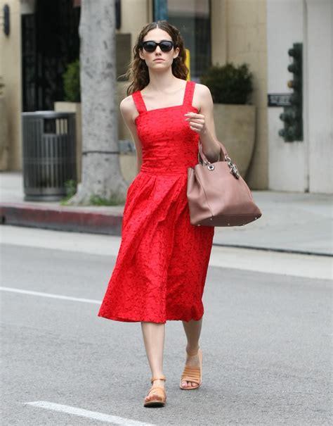 emmy rossum red dress emmy rossum in red dress beverly hills may 2015