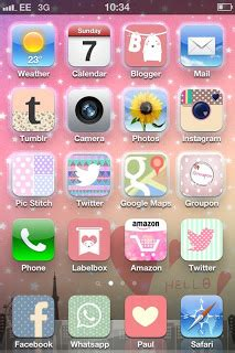 pretty iphone themes blogspot cute iphone themes