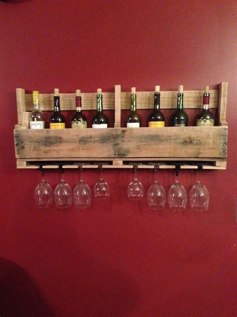How To Make A Wine Rack From Pallets by Build A Wine Rack Made Of Pallets For The Wall 1diy Pallet Furniture Diy Pallet Furniture