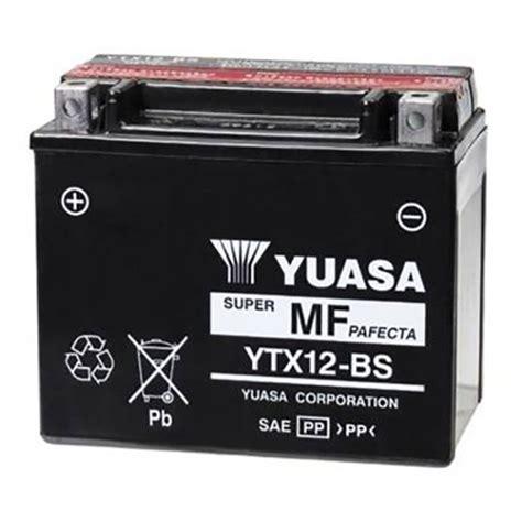 Baterai Yuasa baterai yuasa ytx12 bs maintenance free touwani