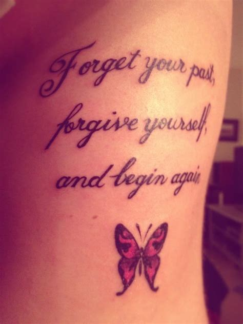 tattoo quotes butterfly nice quote tattoo with butterfly tattoos pinterest