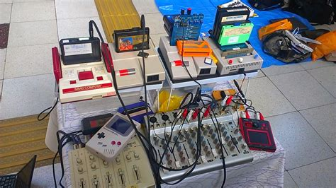 chip tune the performing setup of japanese chiptune artist tiny
