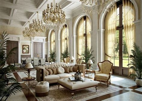 gorgeous french style living room decoration ideas