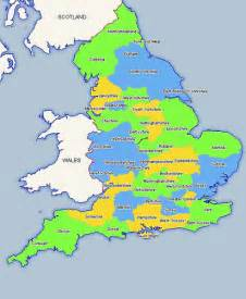 map of counties of ceremonial counties of map fletchandclare flickr
