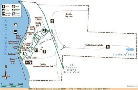 cama beach state park camano island - Cama Beach State Park Map
