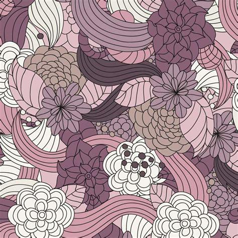 pattern flower eps romantic flowers vector pattern vector art graphics