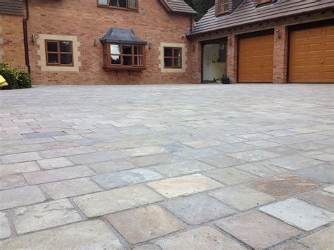 natural stone driveway gallery r m paving northton