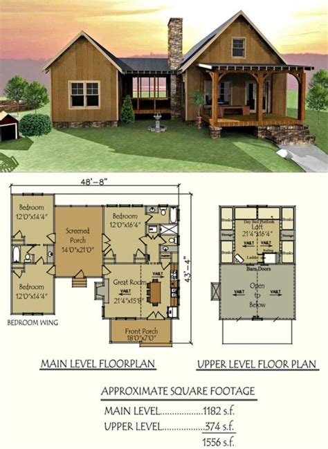 trot house plan house cabin and house