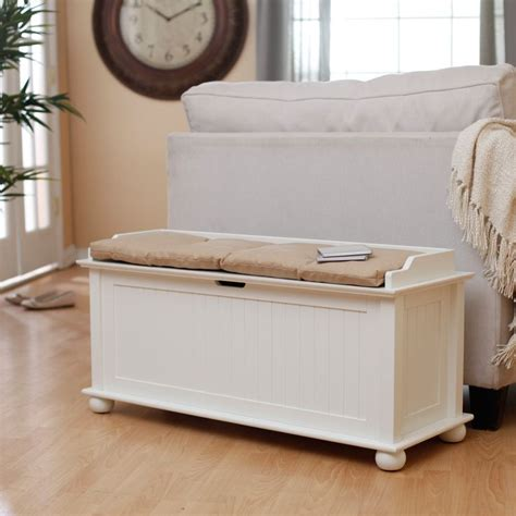 indoor storage bench cushion belham living morgan traditional flip top storage bench