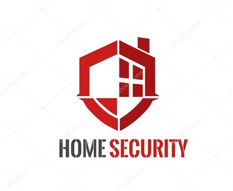 home security logo stock vector 169 redshinestudio 67685395