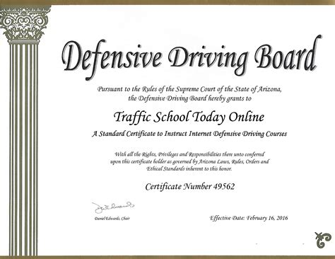 Arizona Traffic Court Records Trafficschooltodayonline Take Defensive Driving