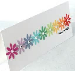 simple handmade cards for birthday 17 best ideas about birthday cards on diy