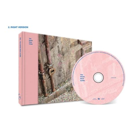 Album Bts Ynwa official bts you never walk alone album cd poster kpop