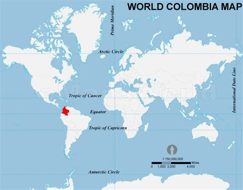 colombia map of the world colombia location map location map of colombia