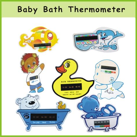 baby bathtub thermometer custom pp baby bath thermometer of focolor
