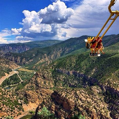 glenwood caverns adventure park swing who s ready for a ride on the giant canyon swing at