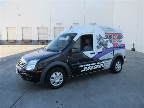 custom designed vehicle wrap grabs attention south gate ca
