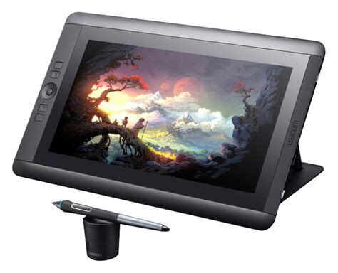 best buy wacom cintiq wacom cintiq 13hd interactive pen display black dtk1300